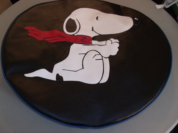 Monogram Spare Tire Cover Snoopy Blue Trim Lxmboutique Spare Tire Covers