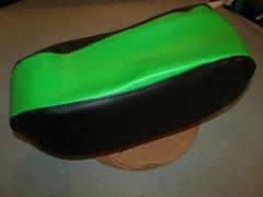 Baja Dirt Bug DB30 Mini bike Seat Upholstery Lime Green And Black Sides
