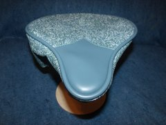 Beach Cruiser Seat Upholstery Floral And Dark Pewter