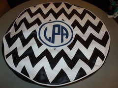 Chevron Monogram Spare Tire Cover CB LLPA