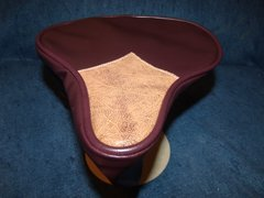 Beach Cruiser Seat Upholstery Dark Brown And Bomber Brown