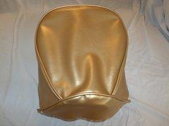 Baja Warrior Heat Mini Bike Seat Upholstery Gold