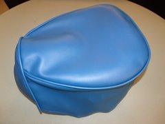 Baja Warrior heat Mini Bike Seat Upholstery Royal Blue