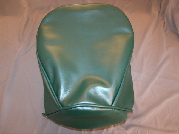 baja warrheat mini bike seat upholstery turquoise teal