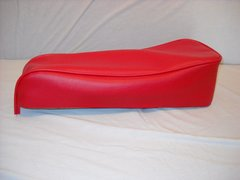 Mini Bike Seat Upholstery Red