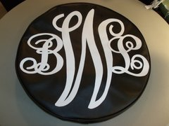Monogram Spare Tire Cover SCL BWL3