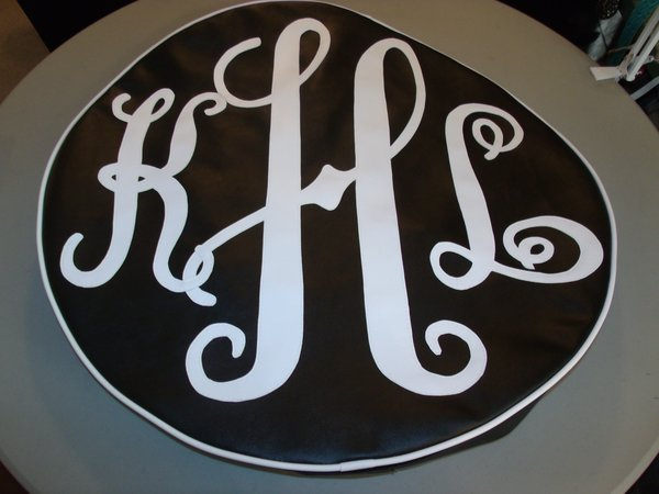 monogram spare tire cover khl