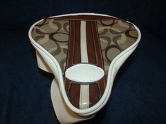 Beach Cruiser Seat Upholstery Brown Design