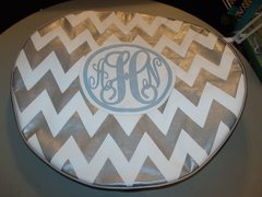 Chevron Monogram Spare Tire Cover SC AHN