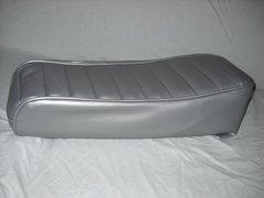 Mini Bike Seat Upholstery Tuck N Roll Silver