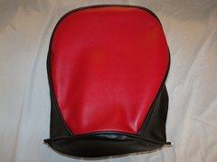 Baja Warrior heat Mini Bike Seat Upholstery Red With Black Sides