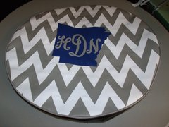 Chevron Monogram Spare Tire Cover Arkansas HDN