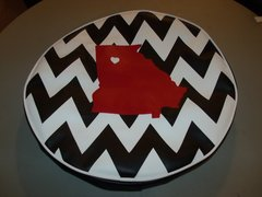 Chevron Monogram Spare Tire Cover Love Missouri