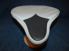 Beach Cruiser Seat Upholstery Light Gray And Black