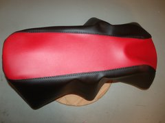 Motovox MBX10 Mini Bike Seat Upholstery Red And Black