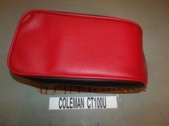 Coleman CT100U Mini Bike Seat Upholstery Red Top Black Sides