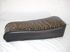 Mini Bike Seat Upholstery db30 Cheetah With Black Sides