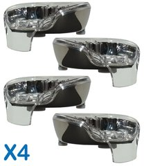 Bundle Deal: 4 Chrome Soapseats - pick your top tray colors