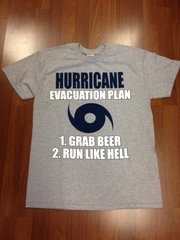 MENS HURRICANE T-SHIRT GRAY