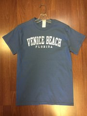 MENS VENICE BEACH T-SHIRT BLUE