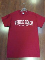 MENS VENICE BEACH T-SHIRT RED