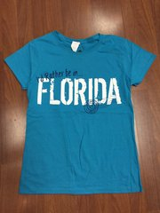 ISLAND TEE BLUE I'D RATHER BE IN FLORIDA