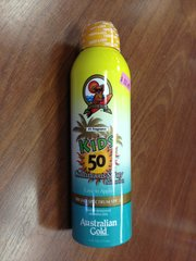 AUSTRALIAN GOLD KIDS CONTINUOUS SPRAY SPF 50