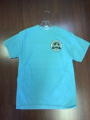 MENS VENICE BEACH CIRCLE T-SHIRT SKY BLUE