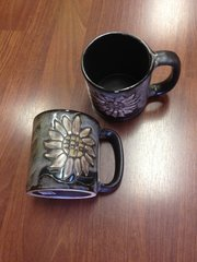 MARA 16 OZ CERAMIC MUG SUNFLOWER