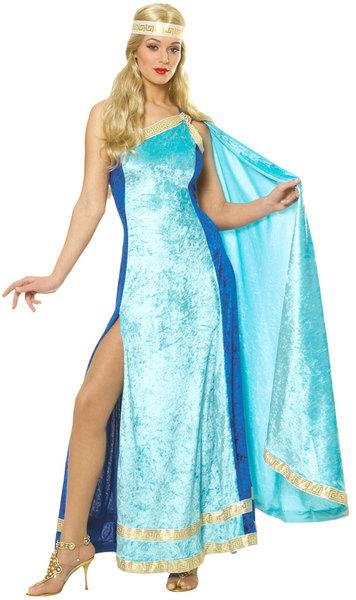 greek athena blue roman womens costume mimes fun shop