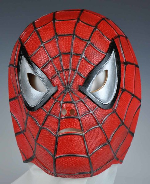 Marvel Spider Man Vinyl Mask Official Movie Mask Mime S
