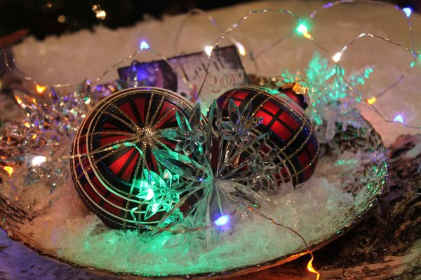 LED Mini Christmas Lights with Timer Exclusively Christmas offers glass ornaments and holiday ...