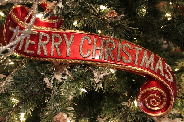 Merry Christmas Banner Browse Home And Garden Collection