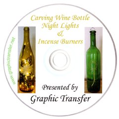 Wine Bottle Night Lights & Incense Burners