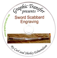 Metal Sword Scabbard Engraving