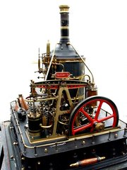 Most Incredible 1hp Crossman Steam Plant INQUIRE