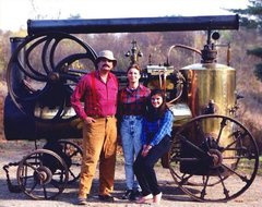 1880 French Merlin Portable Steam Engine. INQUIRE