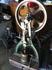 Unidentified ca. 1870 Inverted Steam Engine