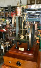 1865 Clerkenwell Jewelers Steam Engine
