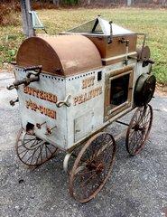 Rare Kingrey Spring Wind Popcorn Peanut Vendors Cart