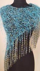 Jade Turquose petit shawl