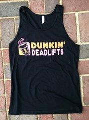 Dunkin Deadlifts Unisex Tanktop