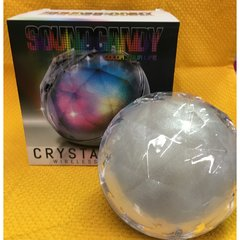 Sound Candy Crystal Ball Light Show Wireless Speaker