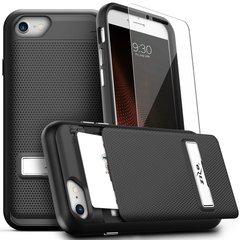 CLICK CASE- Screen Protector - Wallet Back Click iphone 7 Plus Case
