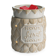 Home Sweet Home 2 in 1 LED Flickering Fragrance Warmer