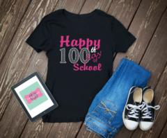100th Day of School Shirt, 100th day Shirt, V Neck
