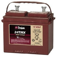 Trojan Battery 24TMX Deep Cycle Flooded 12V 85Ah