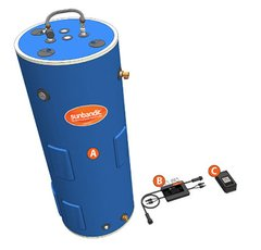 Sun Bandit® SB-80EU-1200-B Solar PV Water Heating System