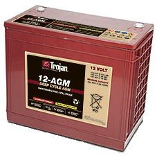 Trojan Battery 12-AGM Deep-Cycle AGM 12V 140Ah