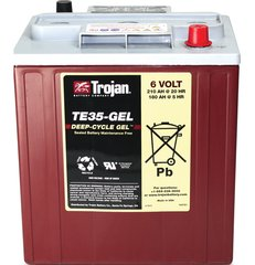 Trojan Battery TE35-GEL Deep-Cycle Gel 6V 210Ah